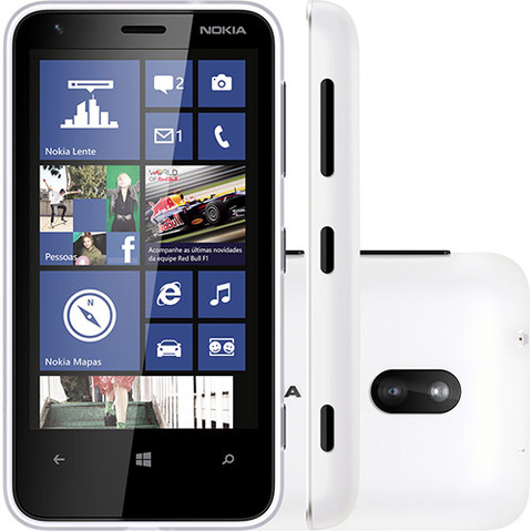 Nokia Lumia 620 Cam 5mp Wifi Gps 3g Windows Phone 8 Nacional |VITRINE