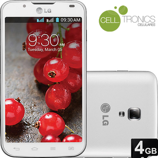Lg Optimus L7 Il Dual Chip P716 Branco Android 4.1 Camera 8MP Wifi GPS Bluetooth Nacional Anatel