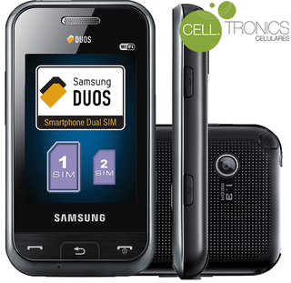 Samsung E2652W Dual Chip Desbloqueado Mp3, Bluetooth, Radio FM, Touch Screen, Duos, 1.3MP
