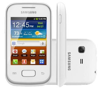 Samsung Galaxy Pocket S5300 Branco Android Wifi Gps Fm | VITRINE