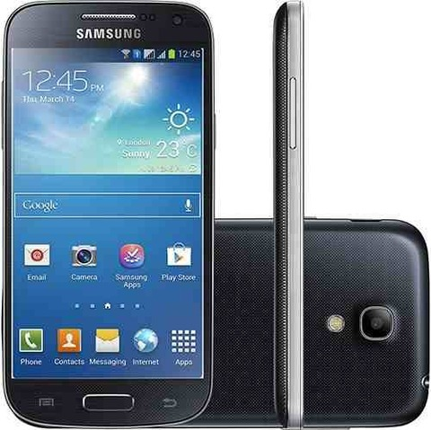 Samsung Galaxy S4 Mini Dual Chip I9192 Grafite Cam 8mp 8gb