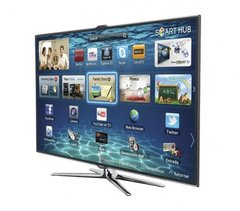 "Smart TV LED 46"" Samsung UN46ES7000 3D / 4 Óculos"