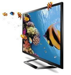 "Smart TV 3D LED 42"" LG Full HD 1080p 42LM6200 - DTV Conversor 2D/3D 120Hz 4HDMI 3USB"