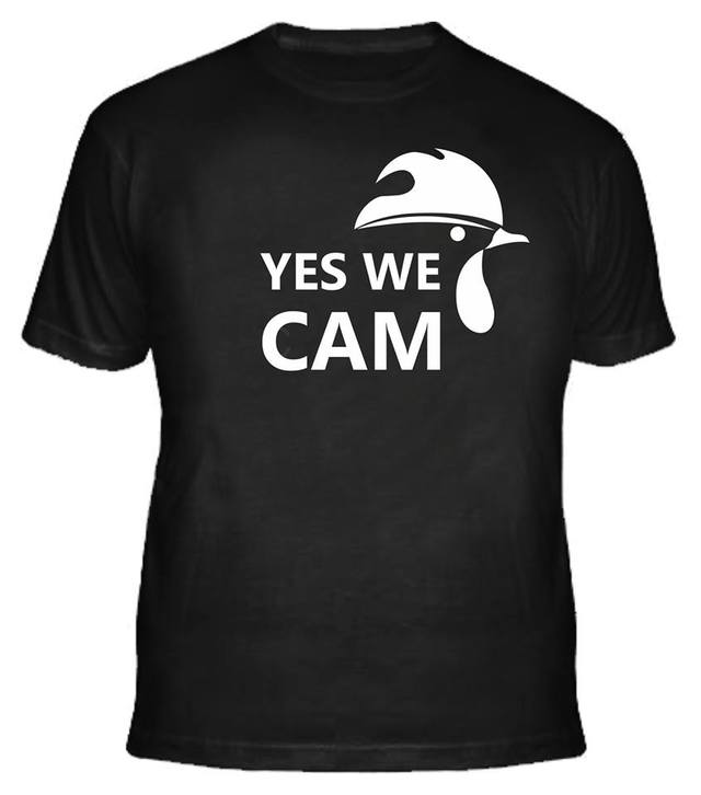 Camisa  YES WE CAM