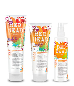 TIGI Bed Head Kit PEQ Colour Combat Dumb Blond