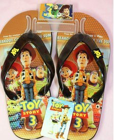 Chinelo Woody Toy Story R$ 38 á vista Pronta Entrega!