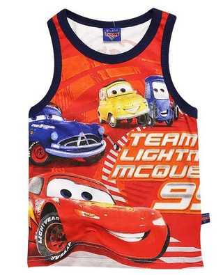 Camiseta Regata Cars