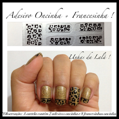 Adesivo Oncinha + Francesinha Simples