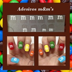 Adesivo M&M'S