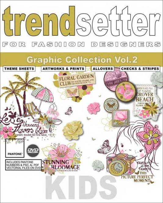 Trendsetter - Kids Graphic Collection - Vol. 2 - inclui DVD