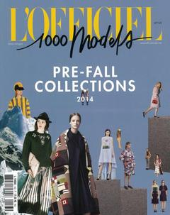 L'Officiel 1.000 Models - nº 143 - Pre-Outono Collections 2014