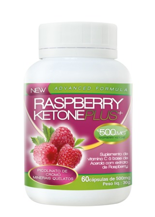 RaspBerry Ketone Plus® 120 caps 500 mg