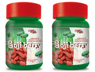 Goji Berry Chá Mais 120 caps 500 mg