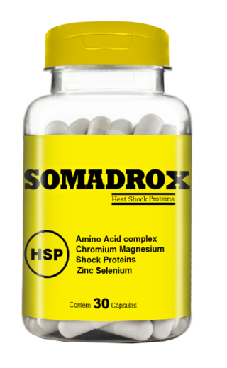 Somadrox 30 caps 500 mg - Muscle Mass