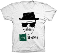 Camiseta Breaking Bad (Heisenberg)