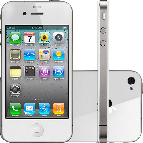Iphone Apple 4S, 16GB, Branco