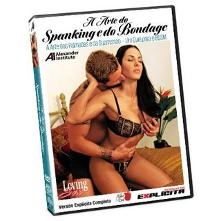 DVD - A arte do Spanking e do Bandage - Loving Sex (Ref. 4085)