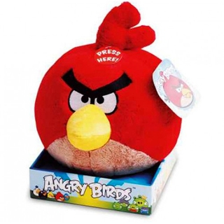 PELÚCIA ANGRY BIRDS RED 21CM