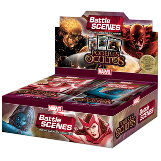 BATTLE SCENES - PODERES OCULTOS BOX DISPLAY C/ 36 BOOSTERS