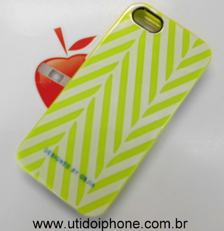 Capa para IPhone 5 Designed By Objia verde