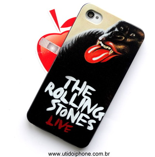 Capa para IPhone 4/4s The Rolling Stones Live