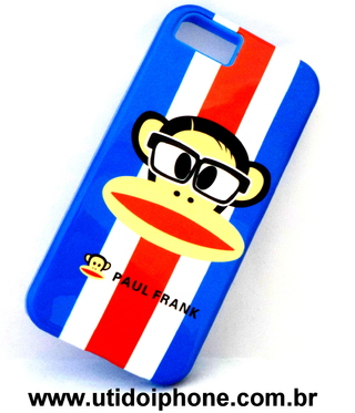 Capa para Iphone 5 - Paul Frank azul