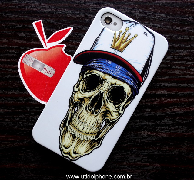 Case Skull Cap IPhone 4/4S