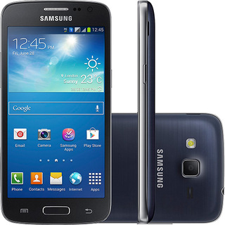 Smartphone Dual Chip Samsung Galaxy SIII Slim G3812 Preto Android 4.2.2 5MP 3G 8GB