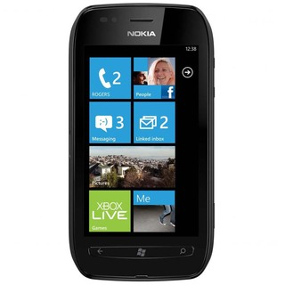 Nokia Lumia 710 Preto com Windows Phone, Câmera 5MP, Touch Screen, 3G