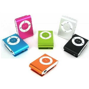Mp3 Clip Player - Suporta até 8gb. Cod. AE574637891