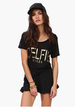 Camiseta Célfie Queen