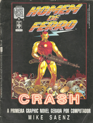 Graphic Novel # 06: Homem de Ferro - Crash