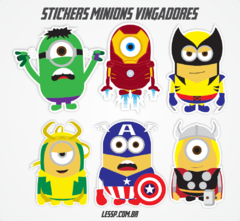 Sticker - Minions l Marvel Comics