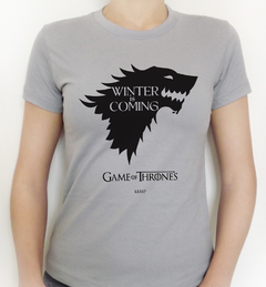 Camiseta | Starks - Winter is Coming