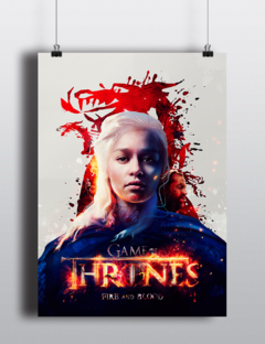 Poster - Game of Thrones l Khaleesi