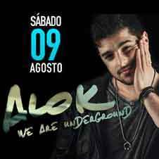 ALOK [LOUNGE] 09/Agosto - LED