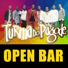 Turma do Pagode [OPEN BAR] 05/Dez - Arena da Fonte