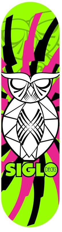 SHAPES SIGLO DECKS