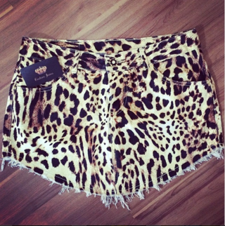 Saia de Bico Animal Print Cj212