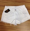Short jeans customizado brandy com pérolas