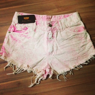 Short jeans customizada darkrosy
