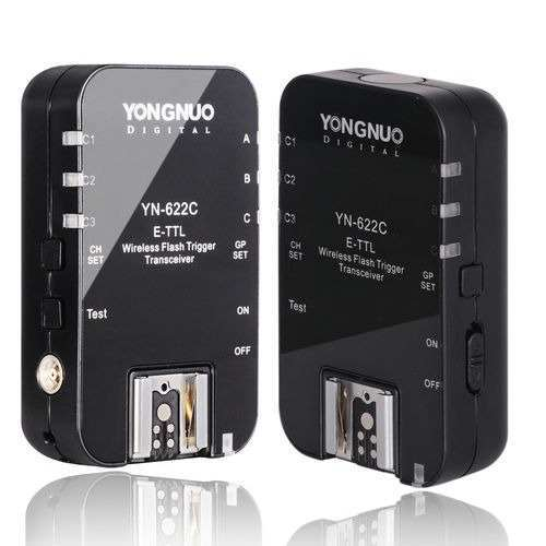 Radio Flash YOUNGNUO TTL YN622C p/ Canon