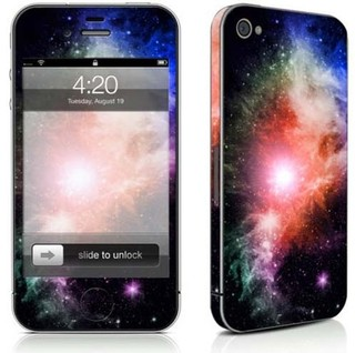 Galaxy Print - iPhone 4/4s