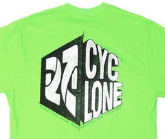 Camiseta Cyclone Draw Metal - Verde