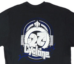 Camiseta Cyclone Escudo Metal Flocado