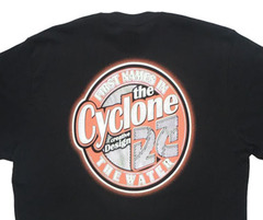 Camiseta Cyclone The Water Metal - Preta