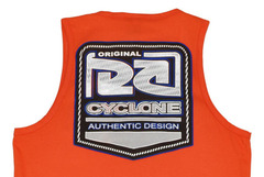 Camiseta Regata Cyclone Path Metal Flocado