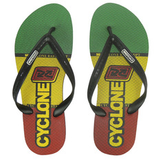 Chinelo Cyclone Rasta Bolt