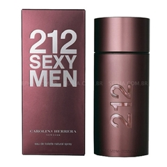 Perfume 212 Sexy Men EDT Masculino 100ml Carolina Herrera