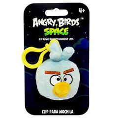 Chaveiro de Pelucia Angry Birds Space -  Ice Bird - Toyng